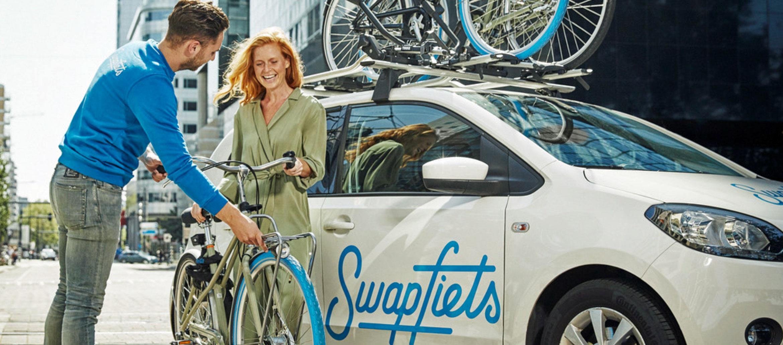 De fiets als wegwerpartikel?