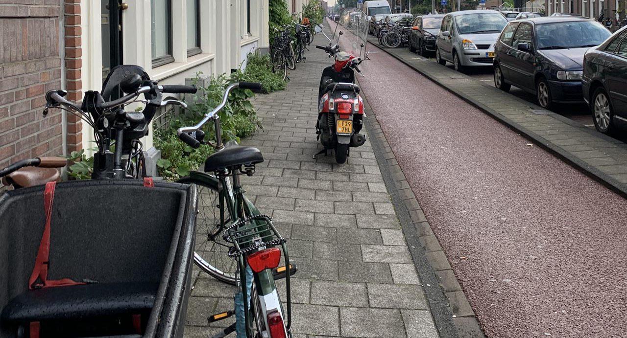 Voorlopig geen ruimte voor voetganger